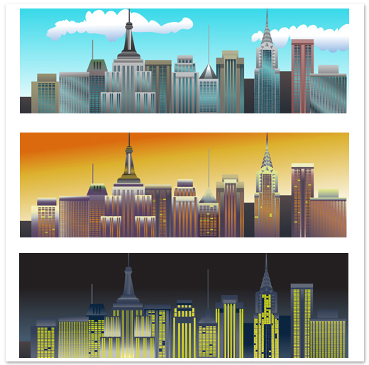 Background illustration for office facebook game.